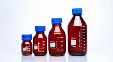 棕色蓝盖试剂瓶